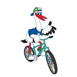 Elwin der Radfahrer