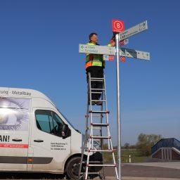 Knotenpuntwegweisung im Elb-Havel-Winkel